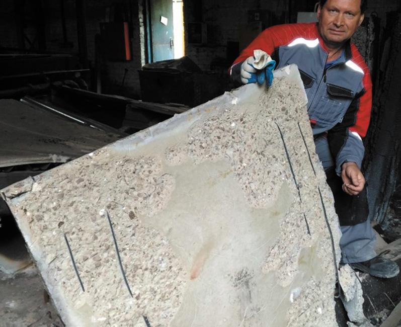 Обеспечение огнестойкости железобетонных строительных конструкций