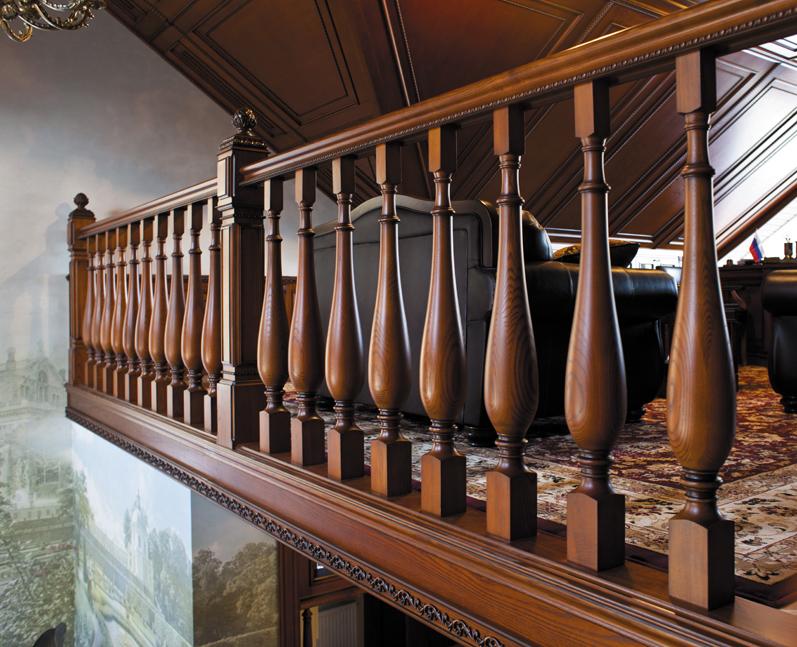 Сохранение деревянных интерьеров в первозданном виде