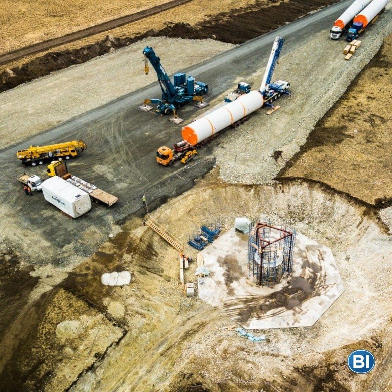 «АККЕРМАНН ЦЕМЕНТ» принимает участие в проекте Wind Farm.