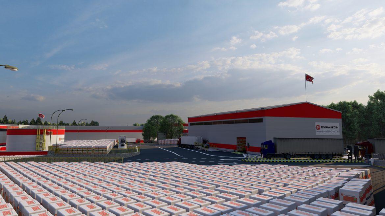 Территория завода в Выборге становится новым логистическим хабом Корпорации ТЕХНОНИКОЛЬ