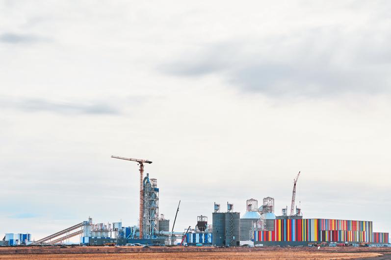 Завод по производству белого цемента в Башкирии готовится к торжественному открытию