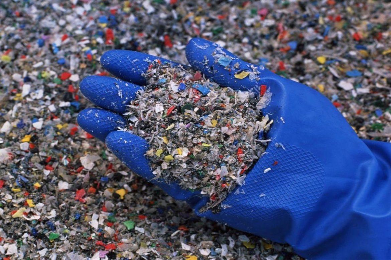 Переработанный пластик может заменить песок в бетоне