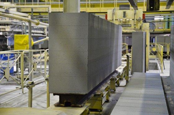 Новый завод по производству газоблоков в Сысерти