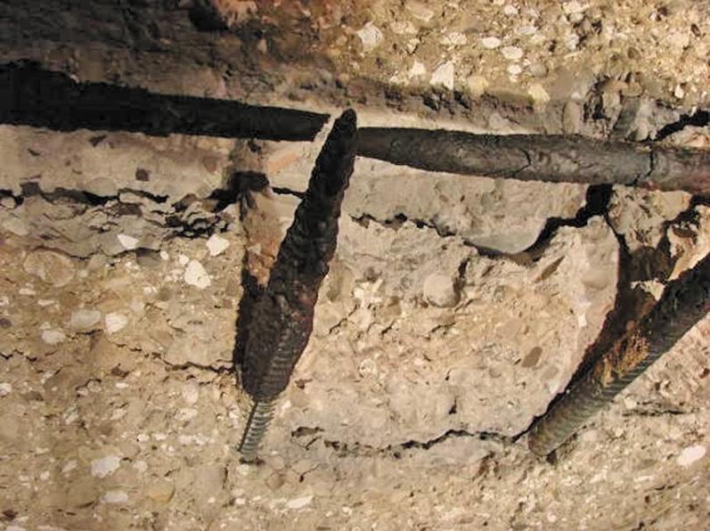 Исследование процесса разрушения бетонных изделий при пожаре с учетом их взрывообразной потери целостности