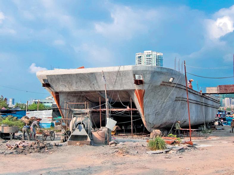 Бетонные корабли – тяжелые и не очень