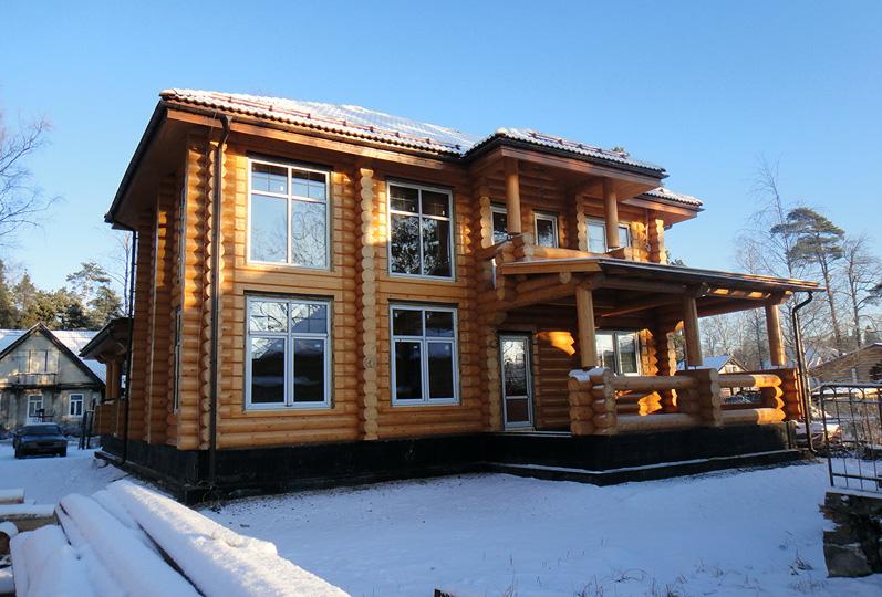 Нордификация деревянных строительных блоков и обоснования их применения в условиях Крайнего севера и Арктики