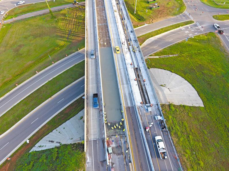 PENETRON при строительстве и ремонте бетонных дорог