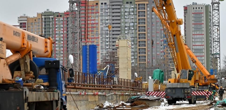 Москва вернулась к «доковидным» темпам строительства