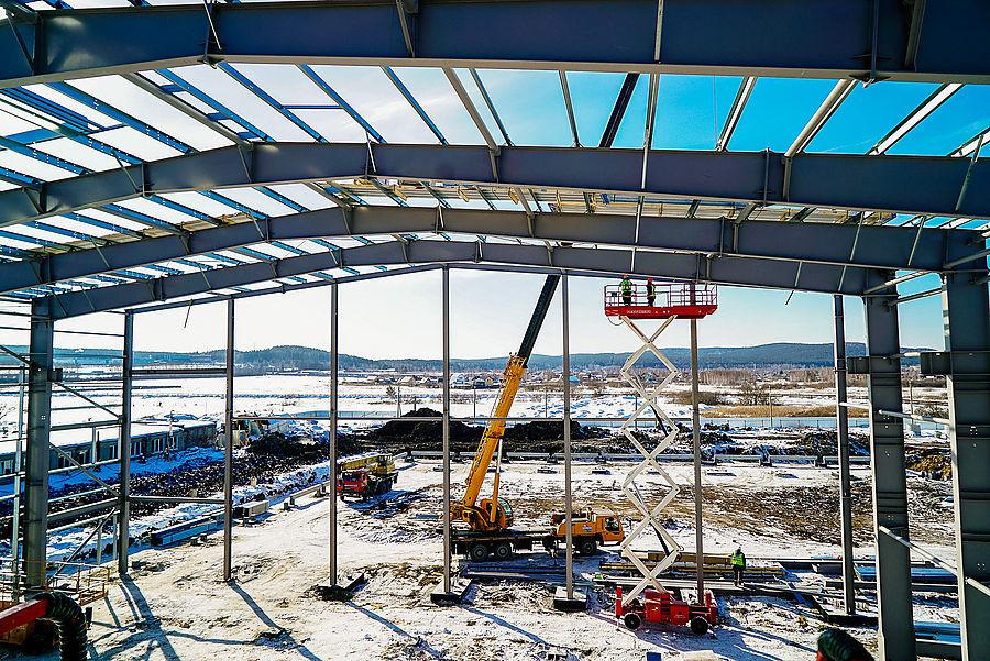 «Ферро-Билдинг» строит завод в «Титановой долине»