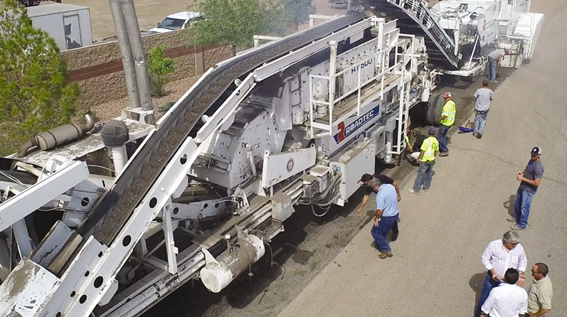 Применение полимера TechniSoil G-5 в дорожном строительстве
