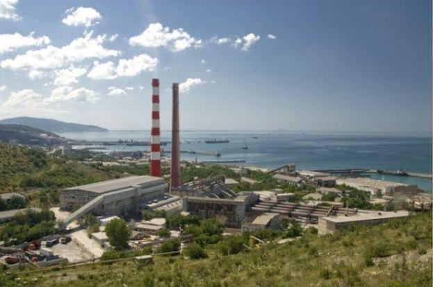 Новый цементный завод в Новороссийске