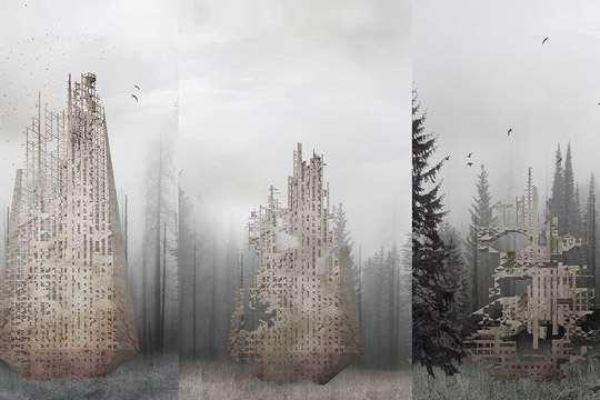 Разлагающийся небоскреб поможет восстанавливать леса