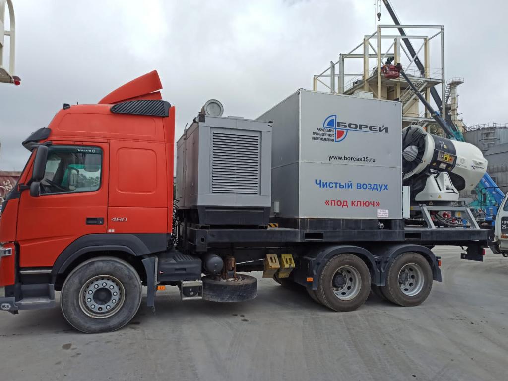 Современная система пылеподавления  Владивостокского бутощебеночного завода в тренде заботы об экологии