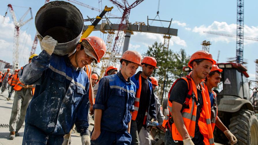 В стройотрасли наметилось снижение производительности труда