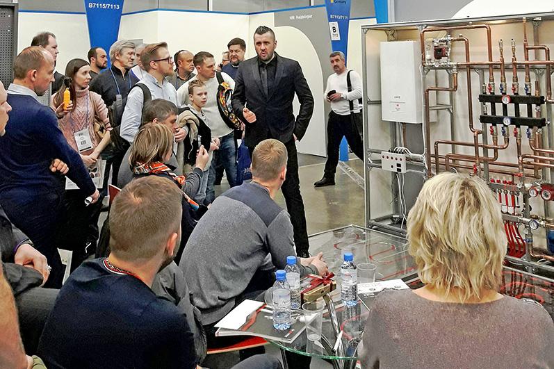 AQUATHERM MOSCOW 2019 – взгляд участника немецкого павильона